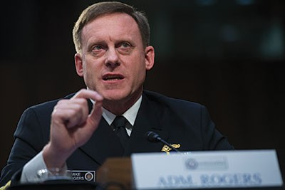 Admiral Michael S. Rogers Trump Deep State coup