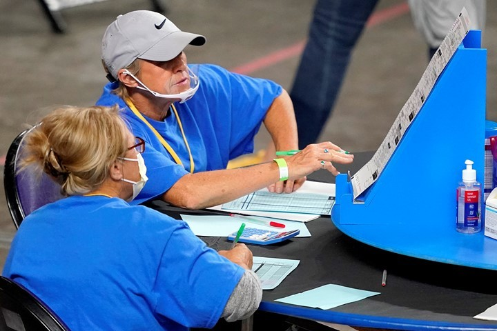 In Arizona Election Audit, Dominion Refuses to Provide Passwords for Voting Machines