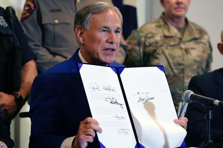 Texas Governor Abbott Signs Massive Border-security Bill