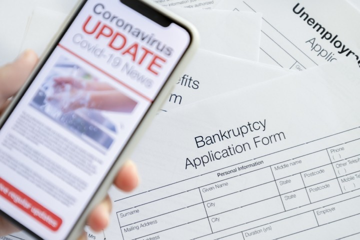 Major Spike in Business Bankruptcies Due to COVID Lockdowns