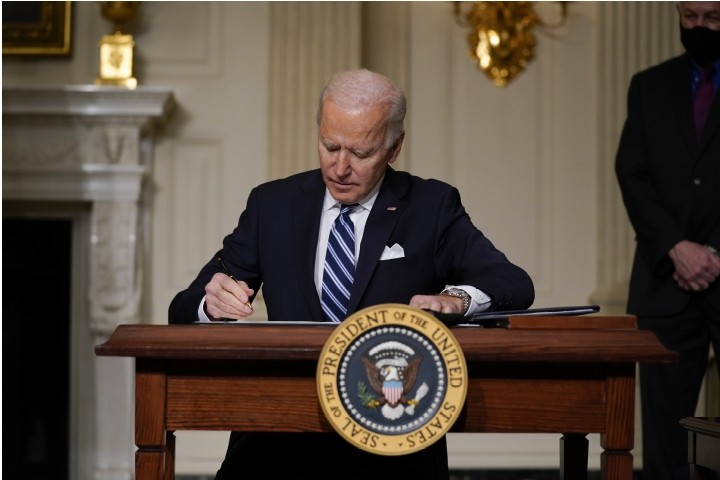 Biden Signs Flurry of Executive Orders Meant to Address Climate Change