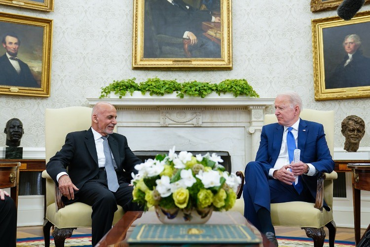 Reuters: Biden Told Ghani to Lie About Strength of Afghan Troops
