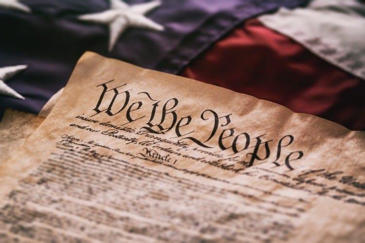 "National Archives Puts ""Harmful Language Alert"" on U.S. Founding Documents"