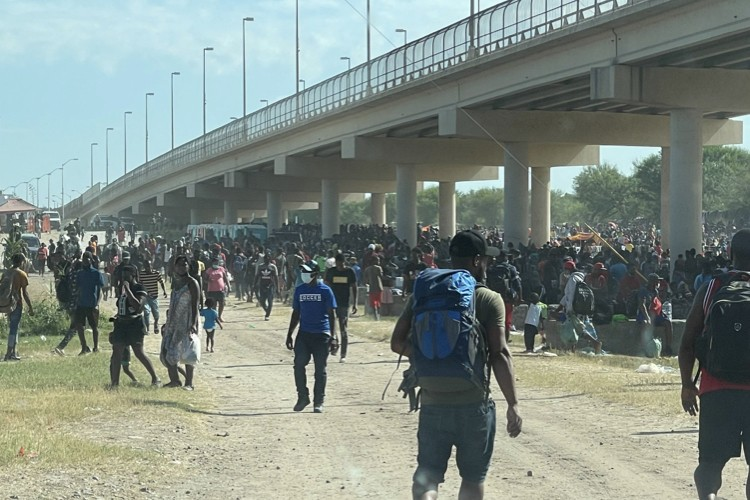 GOP Lawmakers: Biden Caused the Border Crisis at Del Rio, Texas. 10K-plus Illegals Packed Into Makeshift Camp