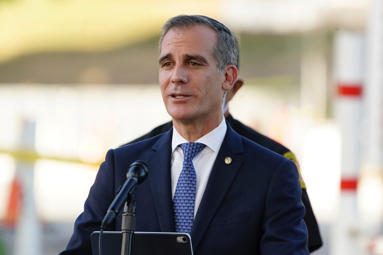 """BLM Activists Object to """"Liberal White Supremacist"""" Eric Garcetti on Potential Biden Cabinet - The New American"""