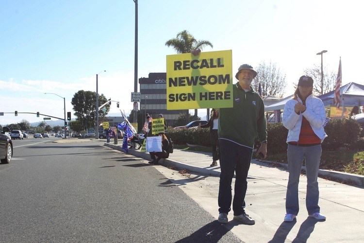 Recall Effort Against Newsom Gains Momentum