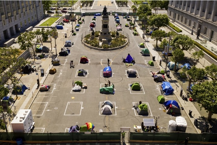 San Francisco Pays $60,000 Per Tent for the Homeless; Asks for More Funds
