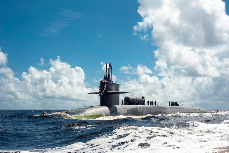 U.S. Guided-missile Submarine Sails Into Persian Gulf